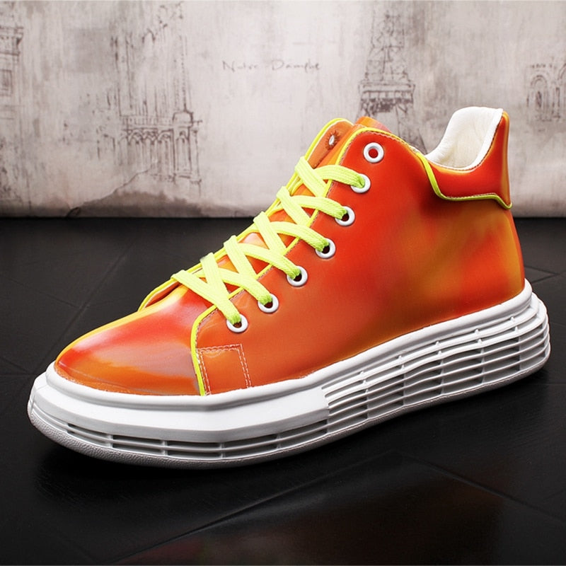 Men Fashion Casual Ankle Boots Sneakers