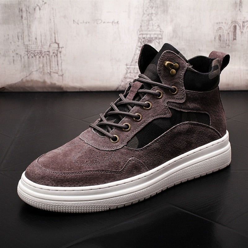 Men Fashion Casual Ankle Winter Warm Boots