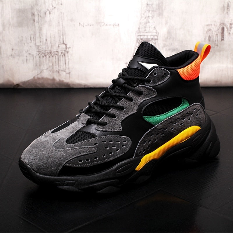 Men Fashion Casual Shoes Breathable Sneakers