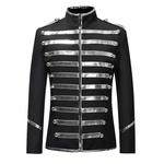 Sequin Stage Suit Jacket Men Fashion Blazer