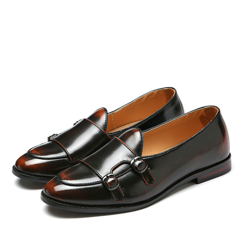 Comfort Lightweight Monk Strap Men Shoes - FanFreakz