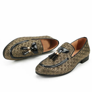 Lavish Interlace Top Men Loafers Shoes