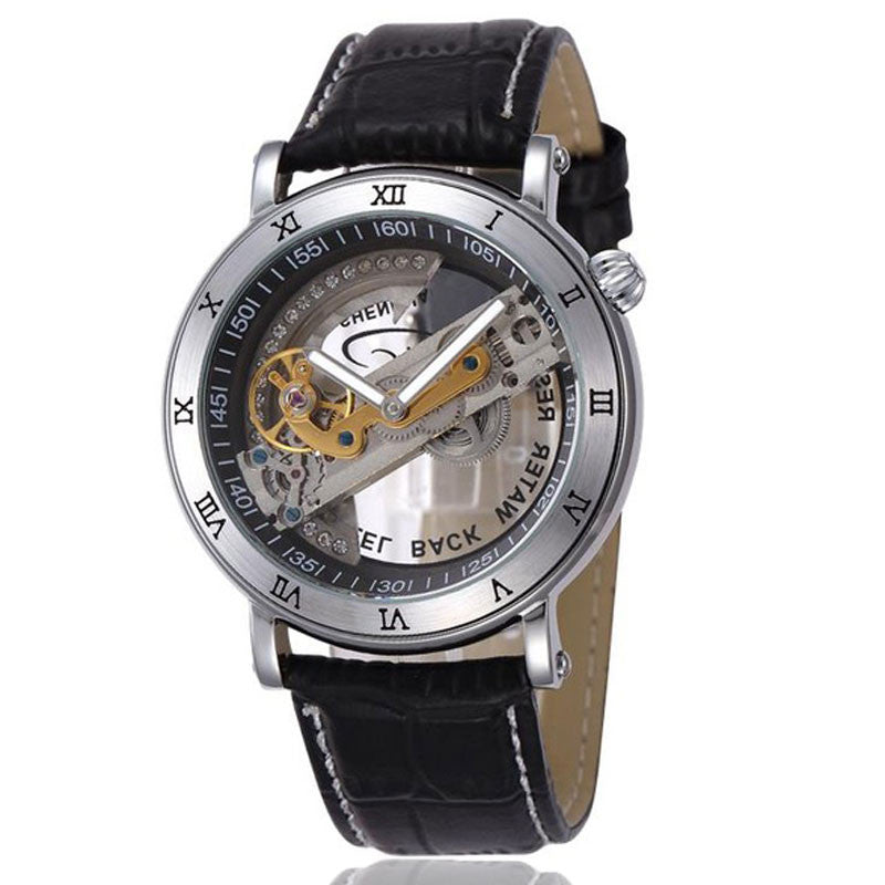 Shenhua Skeleton Bridge Mechanical Men Watch - FanFreakz