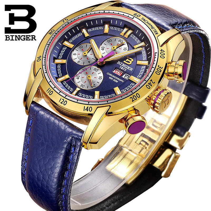 Binger Sporty Pilot Watch - FanFreakz