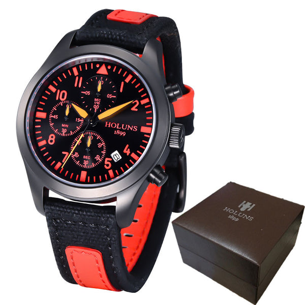 Holuns Military Style Aviator Watches