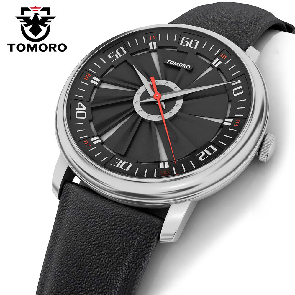 TOMORO Sport Racing Style Quartz Men Watch - FanFreakz