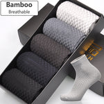 Bamboo Fiber Socks For Men, Anti-Bacterial and Breathable - FanFreakz