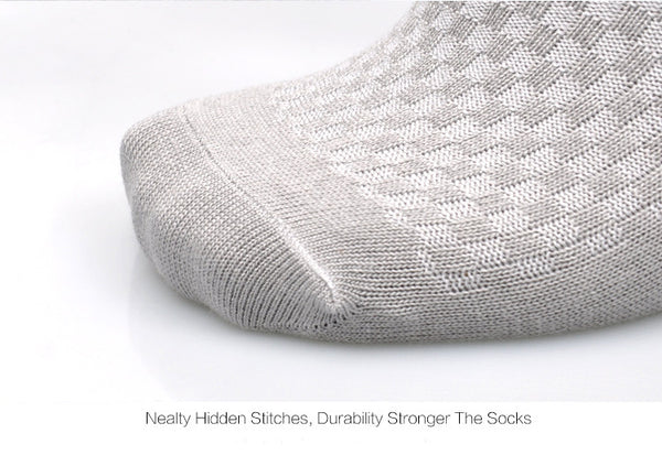 Bamboo Fiber Socks For Men, Anti-Bacterial and Breathable