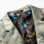 Luxury Printed Peacock Men Blazer - FanFreakz