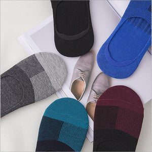 Odorless No Show Socks For Men 10 Pairs/Lot Mixed Color - FanFreakz