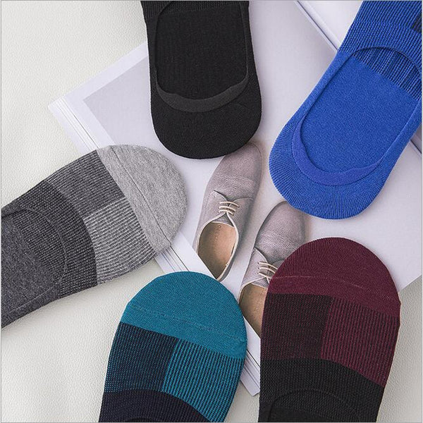 Odorless No Show Socks For Men 10 Pairs/Lot Mixed Color