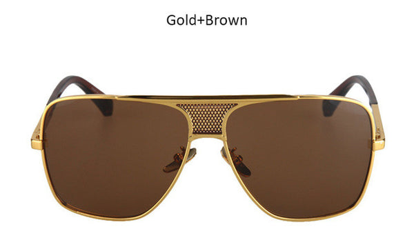 9fbc46a438 ... Aviator Oversized Square Men Vintage Sunglasses - FanFreakz ...