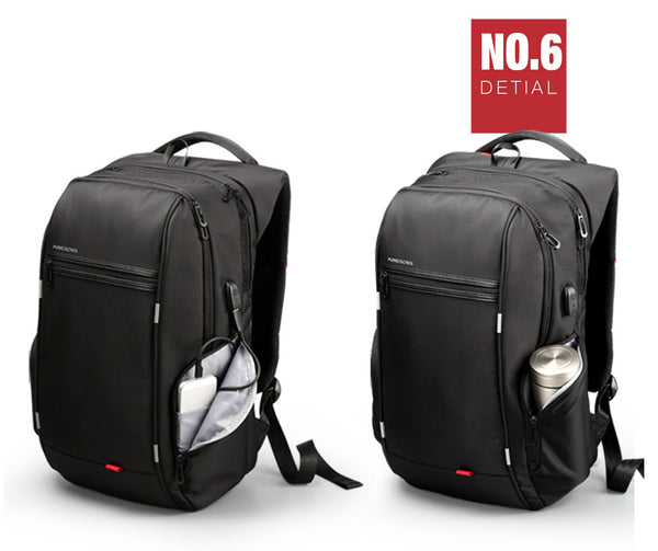 King Anti Scratch and Theft Laptop Backpack with External USB Charge
