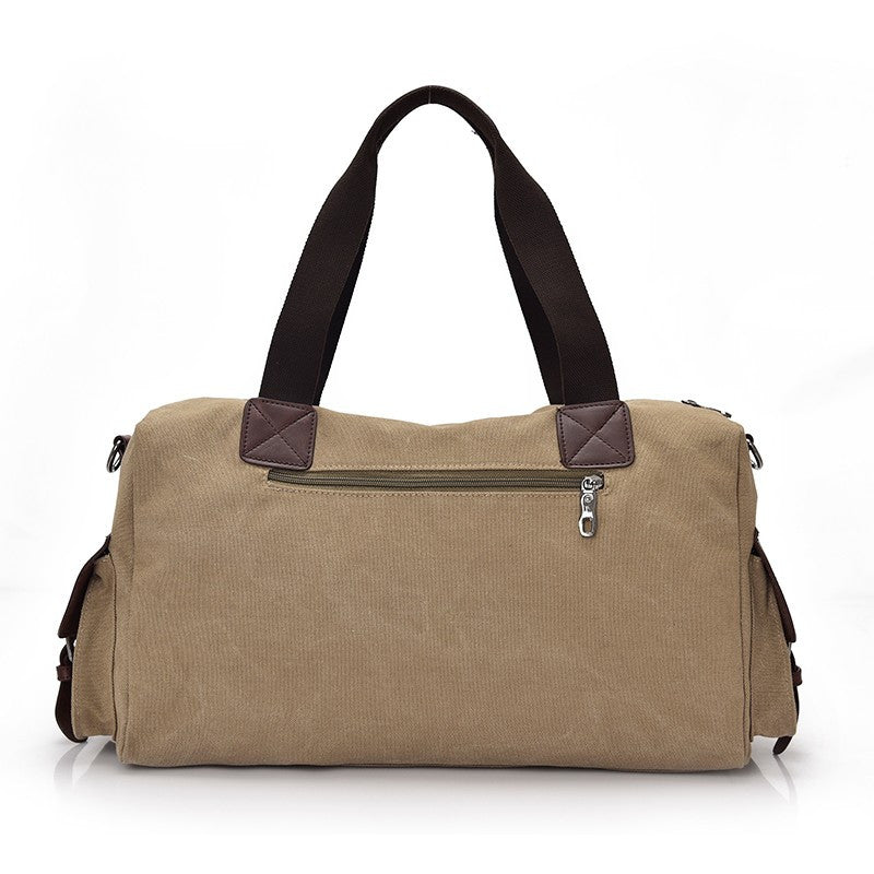 Vintage Style Men Canvas Weekender Bag - FanFreakz