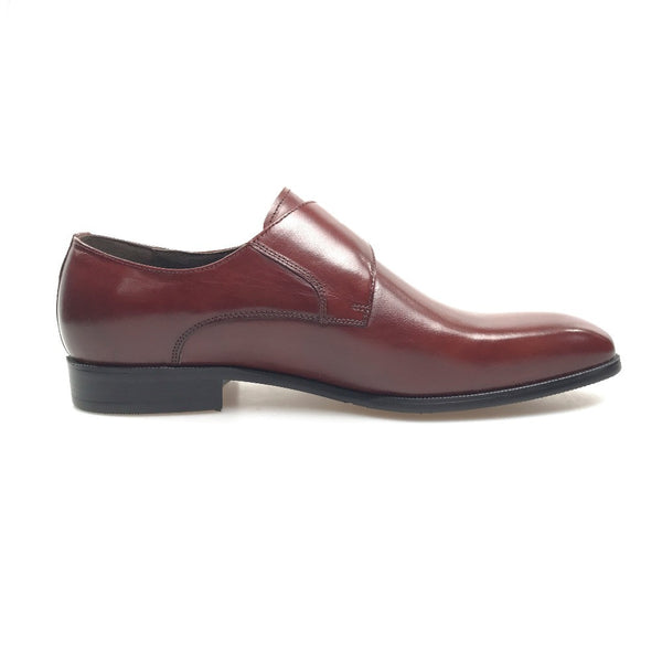 Italian Classical Style Single Monk Strap Men Shoes