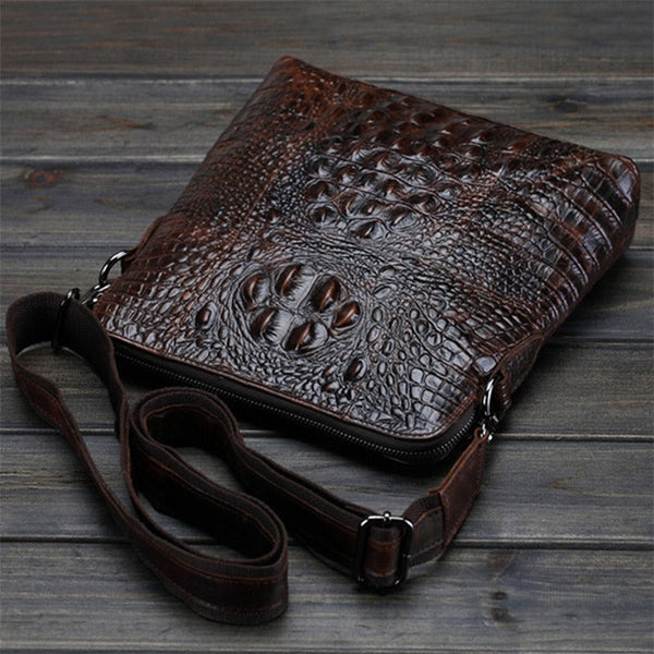 Alligator Men Messenger Bags For Business and Travel - FanFreakz