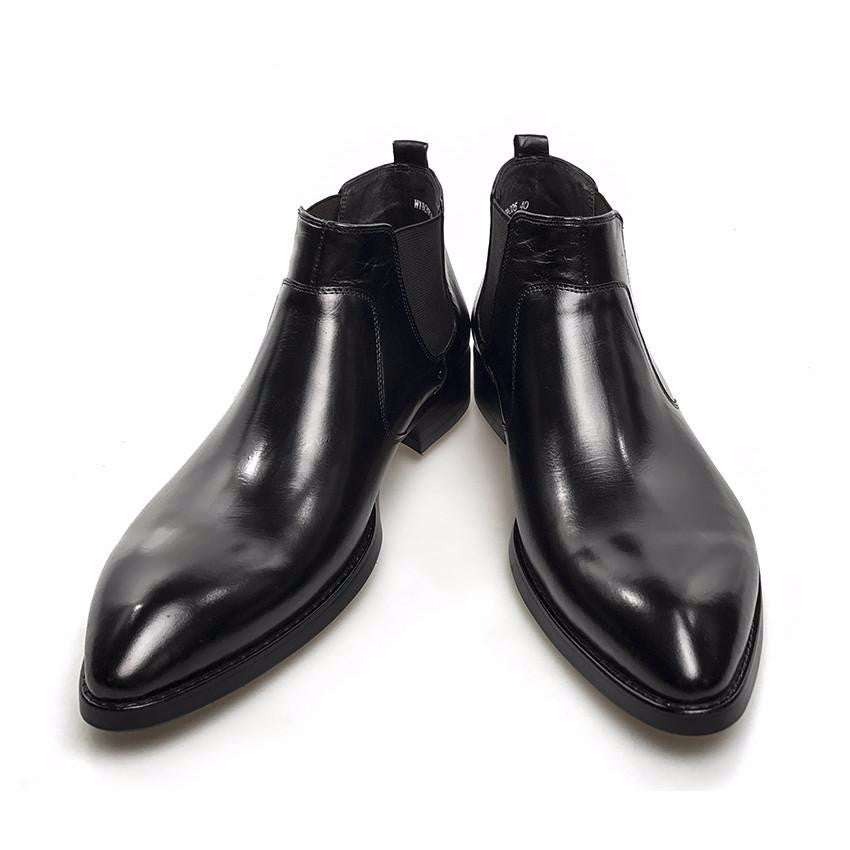 Formal Style Pointed Toe Men Ankle