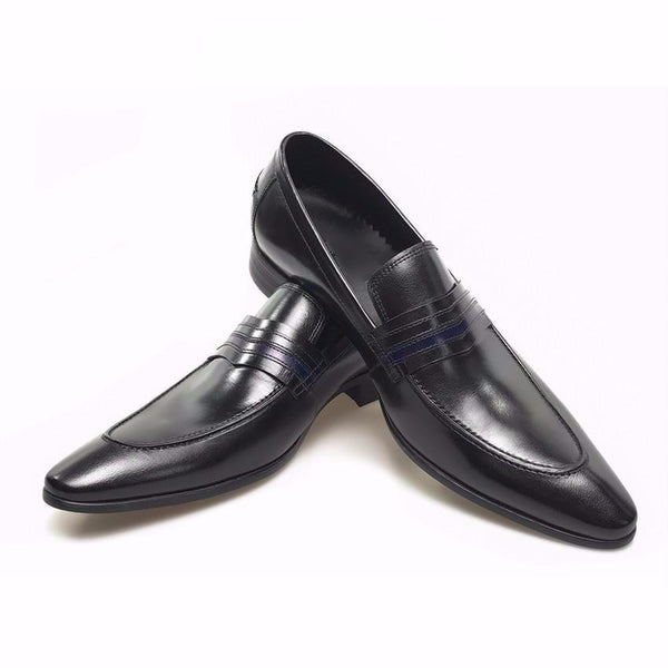Elegant and Classic Black Men Loafers Shoes