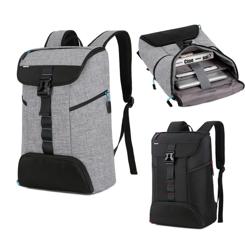 Large Capacity Travel and Business Backpack For Laptop and Many Essentials - FanFreakz