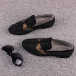 Italian Style Men Loafers With Pin Details - FanFreakz