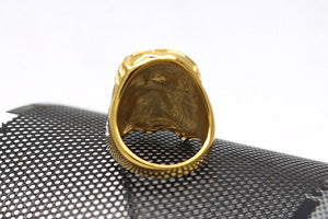 Hiphop Style Rock Jesus Face Men Ring - FanFreakz