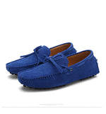 Men Nubuck Loafers Shoes Moccasins - FanFreakz