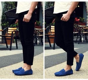 Men Casual Loafers Moccasins Driving Shoes - FanFreakz