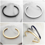 Minimalist and Simple Men Cuff Bracelets - FanFreakz