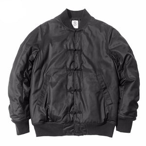 1897da153 Chinese Knot Button Style Men Bomber Jackets