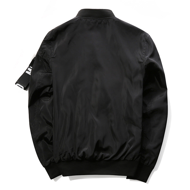 Two Sides Big Pocket Men Bomber Jacket - FanFreakz