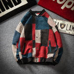 Contras Color Patchwork Style Men Baseball Jacket - FanFreakz