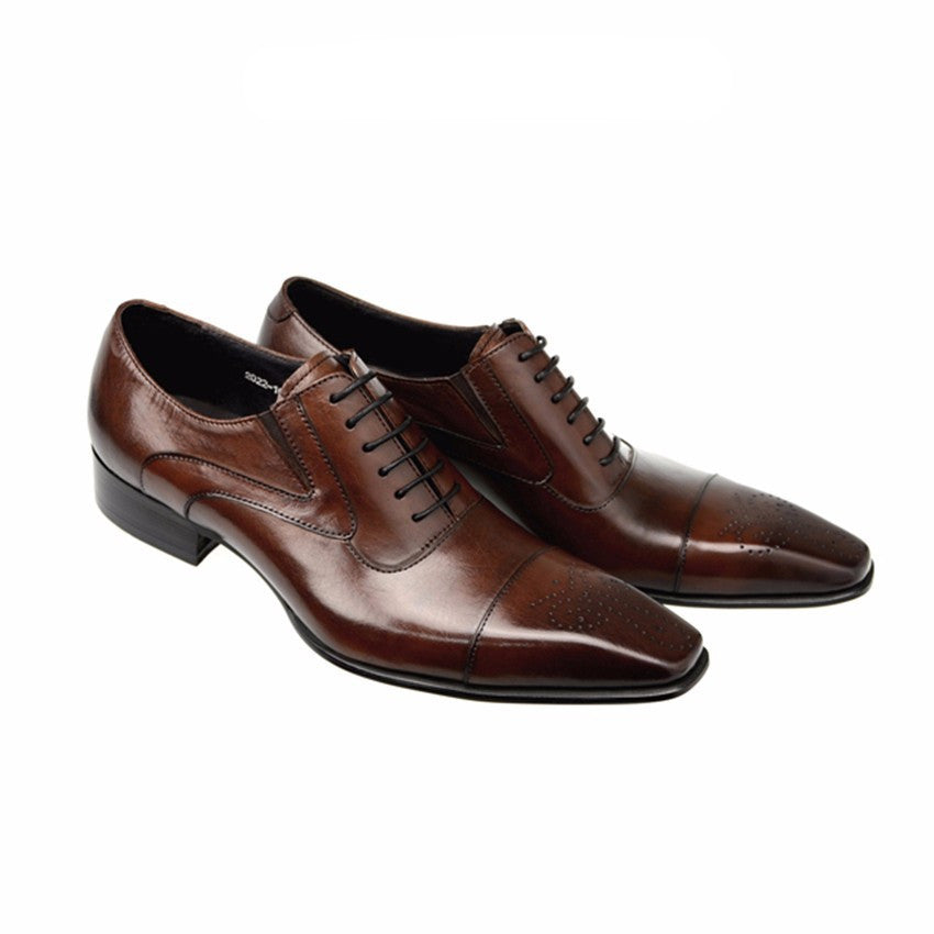 Pointed Toe Classy Formal Men Oxford