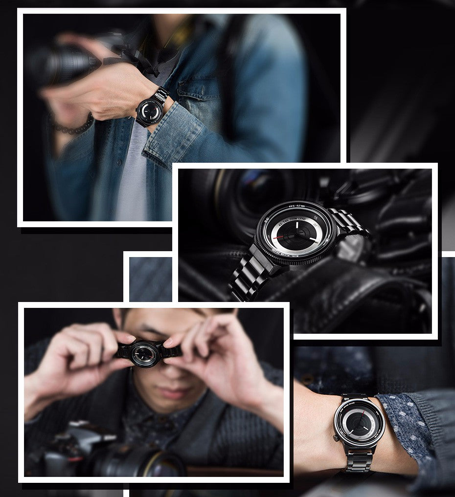 Break Unique Unisex Cool Quartz Camera Photographer Creative Watches - FanFreakz