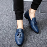 Anyaman Men Loafers For Summer - FanFreakz