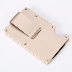 Metal Ultra-Thin Multi-Function High Capacity Men Money Clip