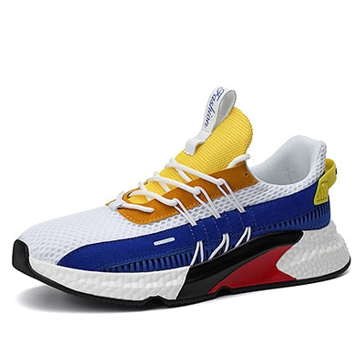 Casual Colorful Summer Comfort Breathable Men Sneakers