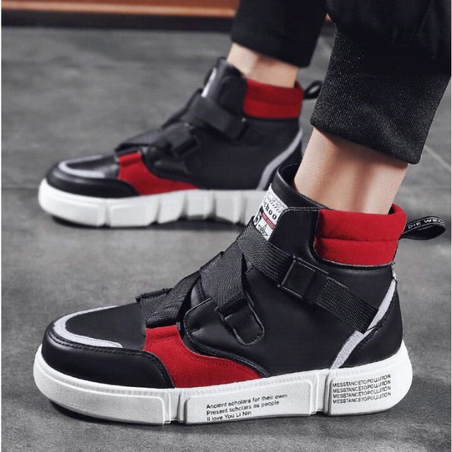 Casual with Band Lace Hasp Men Sneaker - FanFreakz