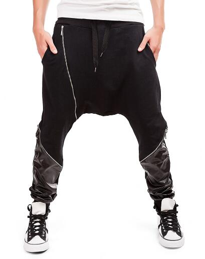 Lower Side Merge Cloth Men Jogger Pants
