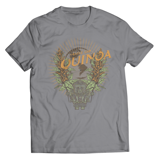 Eagle Cap Quinoa Grey Unisex Shirt