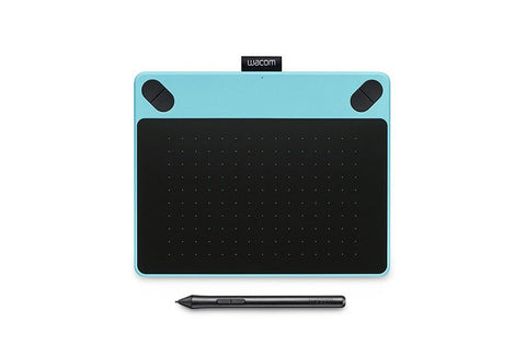 CTH-490: INTUOS Comic, Pen & Touch Small (Mint Blue) - Avit Digital