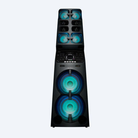 MHC-V90DW: High Power Music System with Party Lights and Karaoke MUTEKI - Avit Digital, Sony