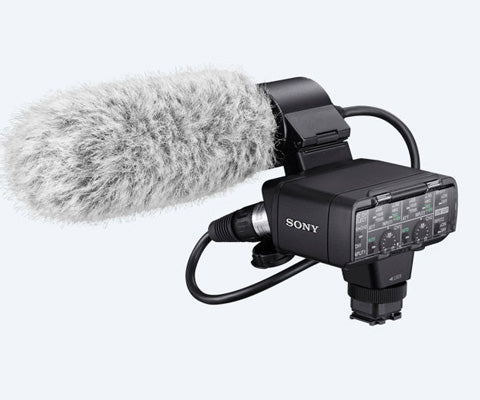 XLR-K2M Adapter Kit and Microphone - Avit Digital, Sony