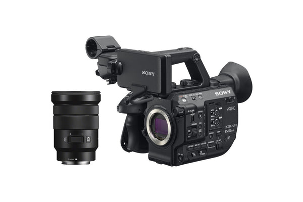 PXW-FS5M2  New look for unbounded creativity: FS5 II is Sony's Super35 handheld camcorder with stunning 4K HDR and 120fps performance. - Avit Digital, Sony