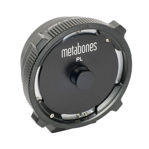 MB_PL-E-BT1: Metabones PL to Sony E-mount T Adapter (Black Matt) - Avit Digital, Sony