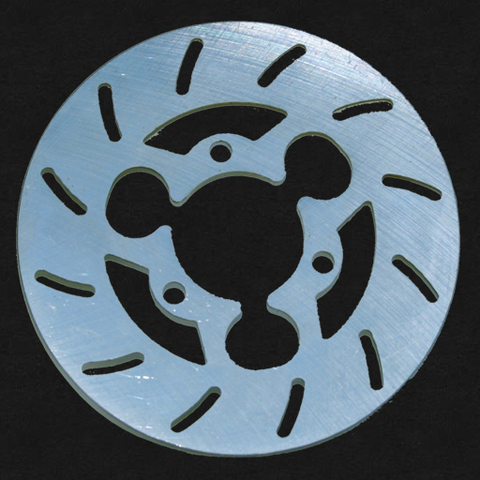 "6"" Slotted Rotor"