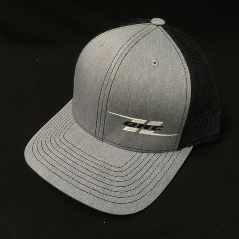 QRC Trucker Hat (Grey/Black