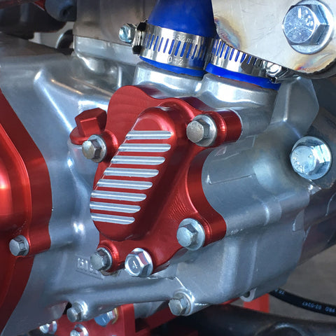 CR500 BILLET WATER PUMP COVER