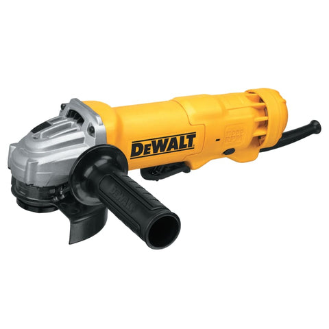 Small Angle Grinder, 4-1/2 in Dia, 11 A, 11,000 RPM, Paddle Switch w/Lock-Off  by Outlaw Leather