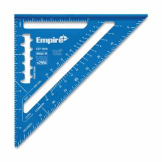 "True Blue® High Definition Rafter Square, 7"", 8ths, Aluminum"