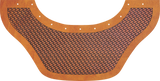 Basketweave Bottom Bib  by Outlaw Leather